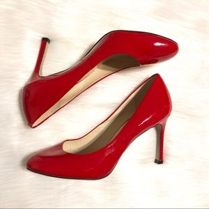 Red Patent Leather Pump | Nine West